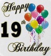 gefeliciteerd 19 jaar Gefeliciteerd 19 Jaar Vrouw   ARCHIDEV gefeliciteerd 19 jaar