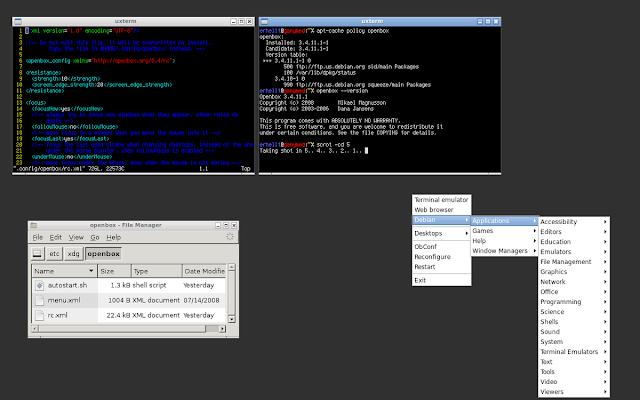 Jenis Desktop Environment Linux Teringan Sampai Terbagus Openbox