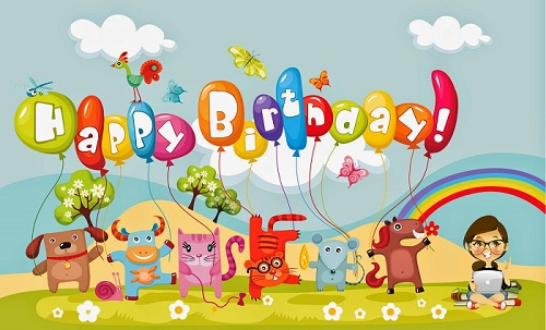 Happy Birthday Image for Kids
