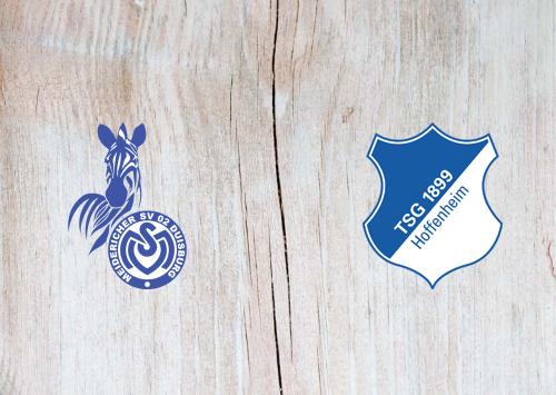 MSV Duisburg vs Hoffenheim -Highlights 29 October 2019
