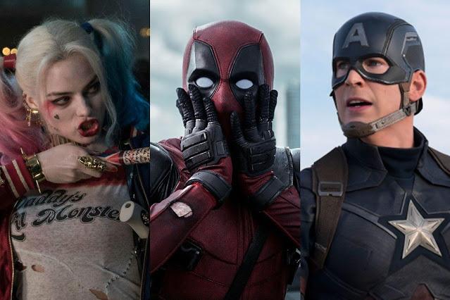 12 mais recentes filmes de super-heróis do Google Play