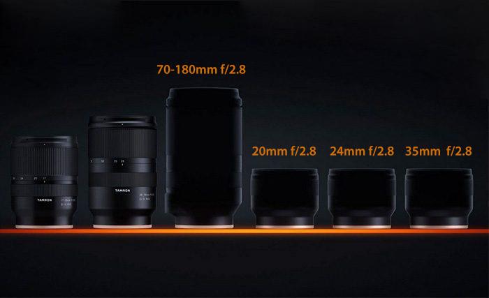 Линейка оптики Tamron для Sony E