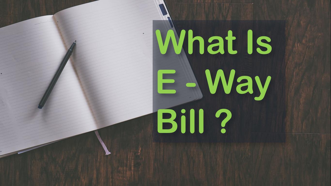 e way bill