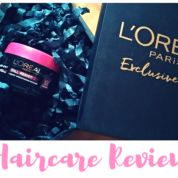 Review Haircare: Loreal Paris Fall Resist 3X One-Minute Treatment Mask