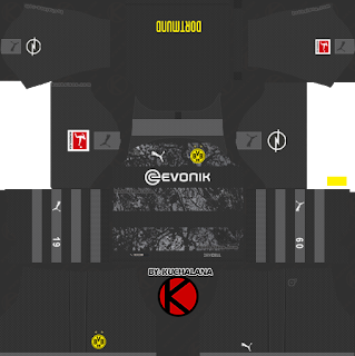 Borussia Dortmund 2019/2020 Kit - Dream League Soccer Kits