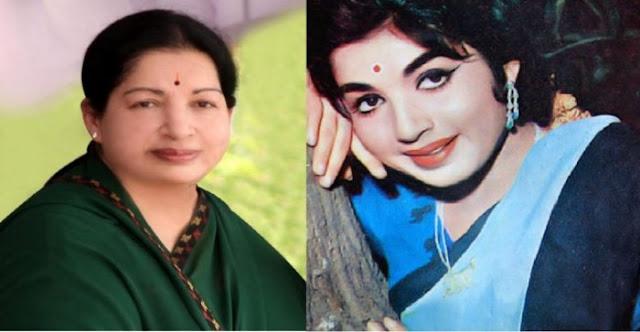 அச்சு அசல் ஜெயலலிதா போல் மாறிய நடிகை..!!