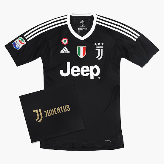 more photos 4b63a 5284e Special Limited Edition Juventus Buffon 1 'Black Edition ...