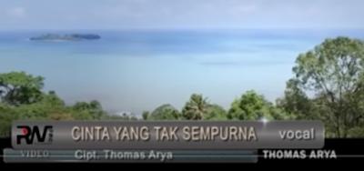 Lirik Lagu Pof Malaysia Thomas Arya - Cinta Yang Tak sempurna