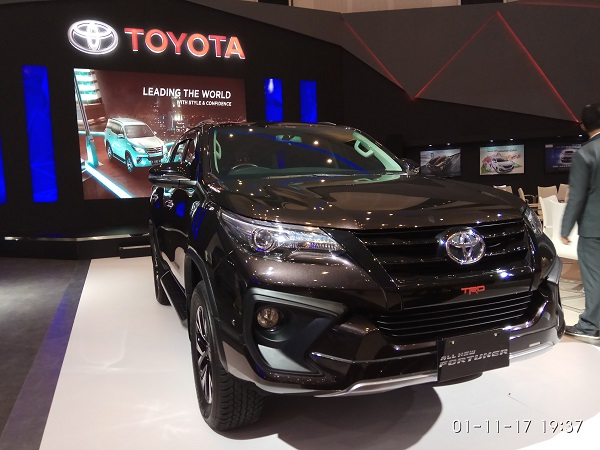 toyota all new fortuner VRZ TRD