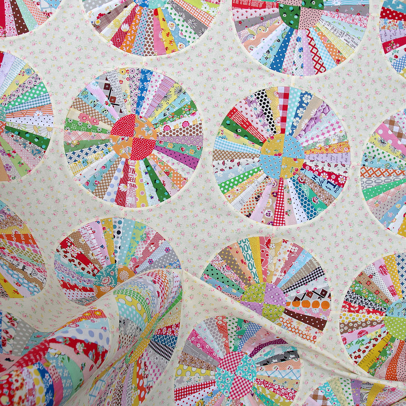 Carousel Quilt | Work in Progress Part 2 | © Red Pepper Quilts 2017