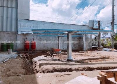 Tư vấn chọn mua cầu nâng 1 trụ rửa xe tại Tiền Giang giá cực tốt