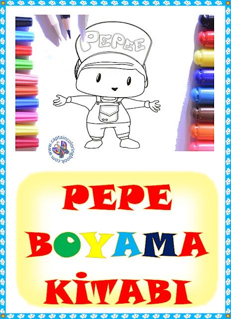Pepe Boyama Kitabı Pdf Ücretsiz İndir.
