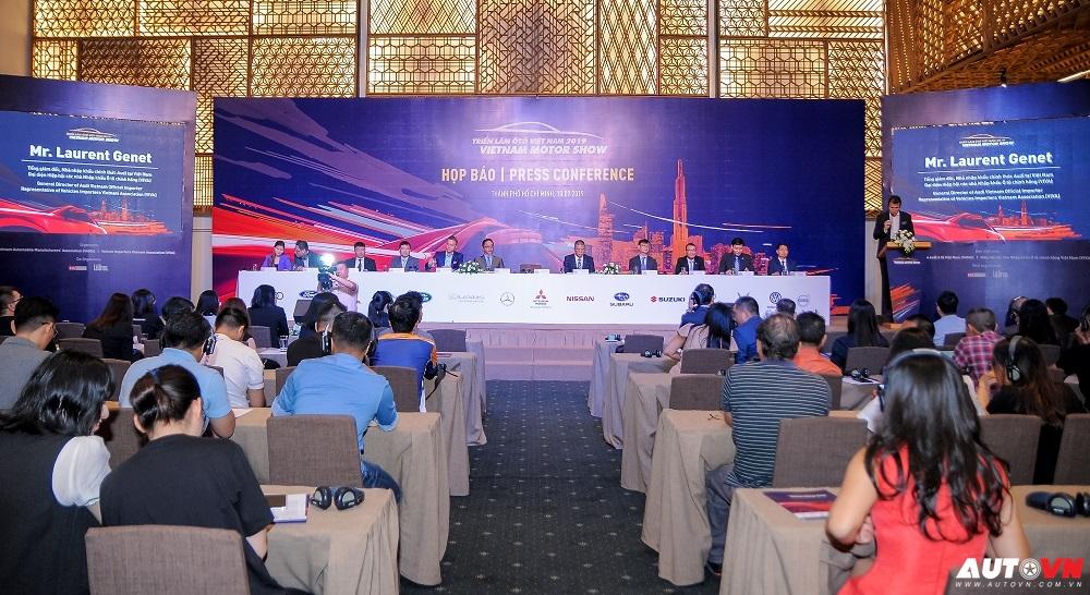 Vietnam Motor Show 2019: Kỳ vọng tạo ra đột phá mùa cuối năm