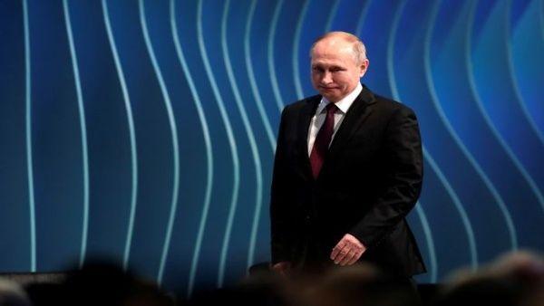 Presidente de Rusia llega a Brasil para XI Cumbre del BRICS