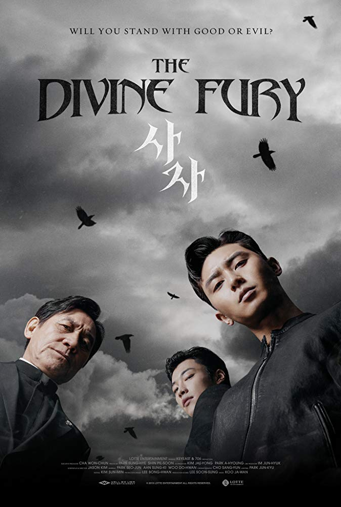 Sinopsis The Divine Fury / Saja / 사자 (2019) - Film Korea Selatan