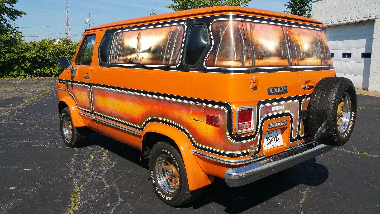 Daily Turismo: That '70s Van: 1976 GMC Vandura Woodsman