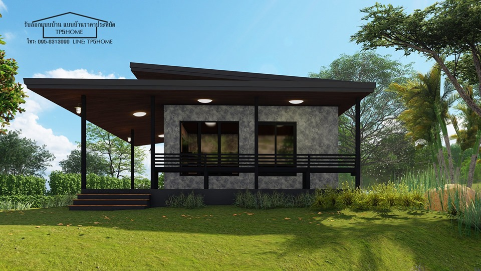 Who says small can't be stylish especially if we are talking about houses? Having a small house is a practical choice nowadays where we can have one with a small budget. So if you are looking for a small house but stylish or beautiful, we have compiled four small houses that will inspire you to build one for yourself.   We have examples of small and modern houses. These home plans are created with the latest trends such as apparent concrete and some are having beautiful glass walls. The following are houses are designed with one to two bedrooms. One-bedroom houses are perfect for young couples while two-bedroom homes are ideal for small families.