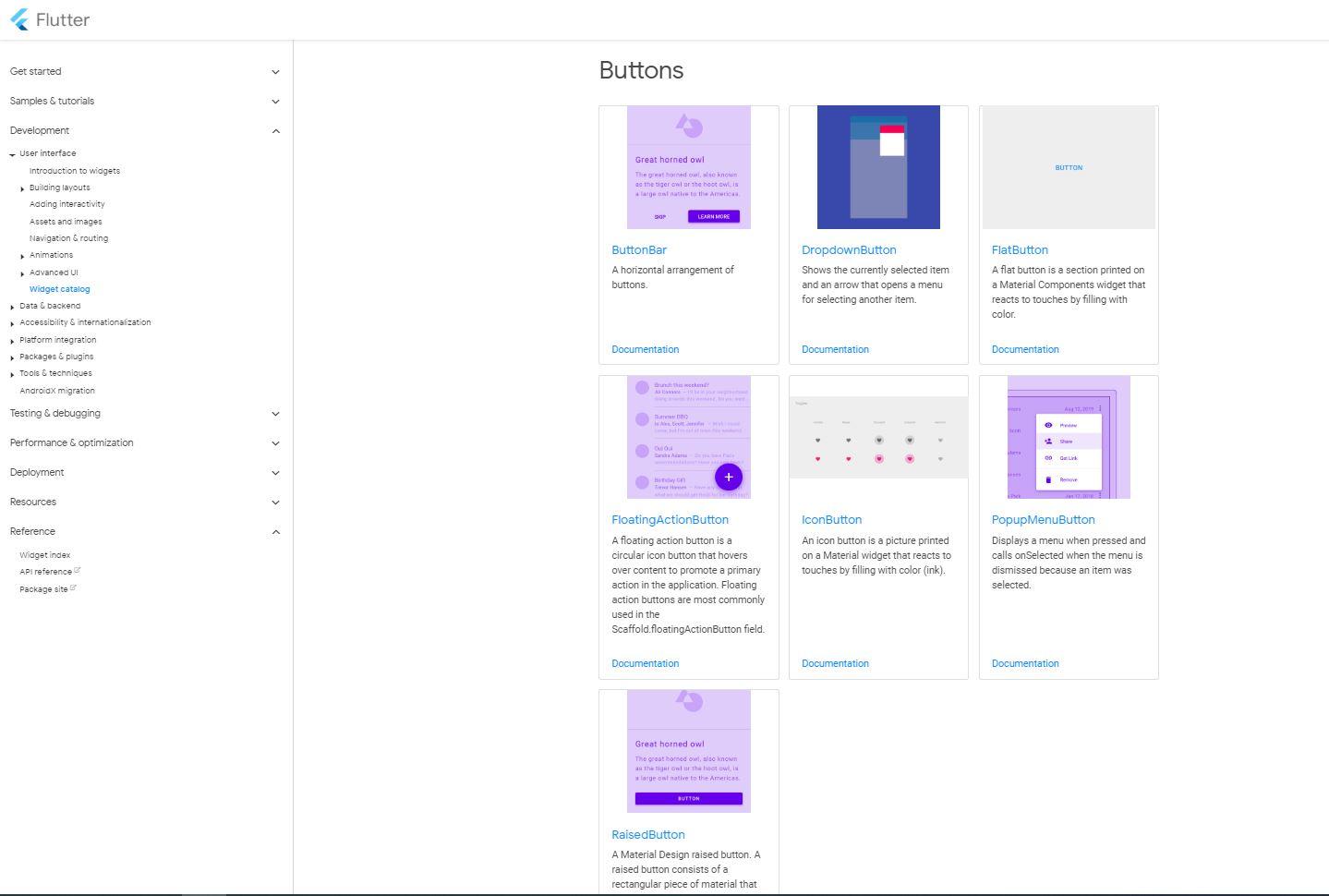 Flutter Material Button Documentation