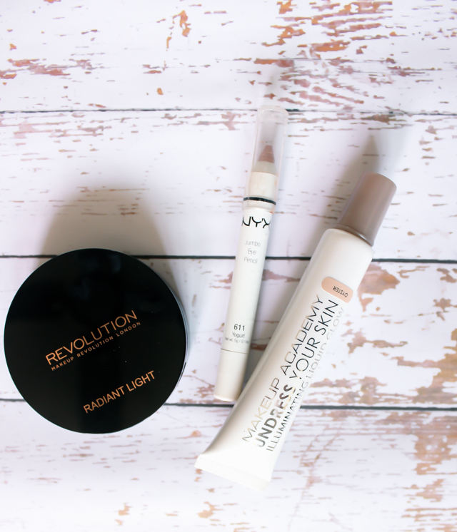 Favourite Drugstore Highlighters - Makeup revolution, MUA, NYX