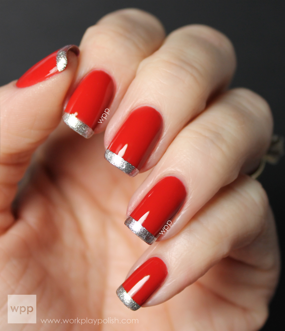 Illamasqua Throb and Sally Hansen Xtreme Wear Celeb City French Mani (work / play / polish)
