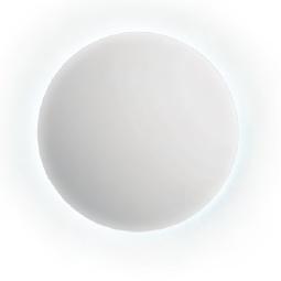 espejo baño redondo luz led ambiente