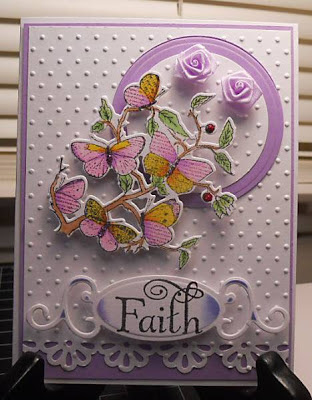 "ODBD ""Faith"" and ""Butterfly Branch Custom Die"" Designer Rebekka Reed aka RIRed2"