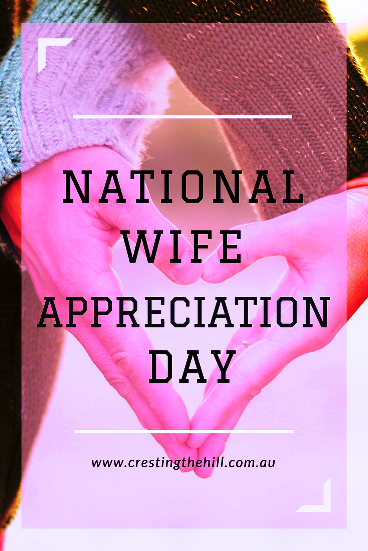 Sept 17th is National Wife Appreciation Day  (Photo by Kristina Litvjak on Unsplash)