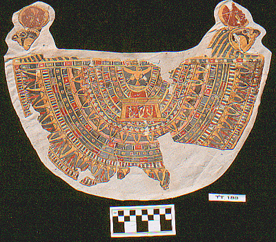 Mummy's colourful collar found in Theban tomb