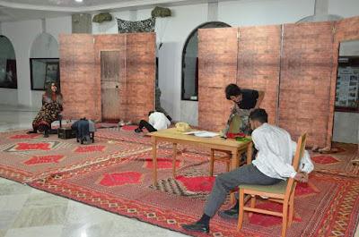 """مسرحية بعنوان """"رجال أوفياء"""" من تقديم مجموعة حركة المسرح بمناسبة اندلاع الثورة التحريرية"""