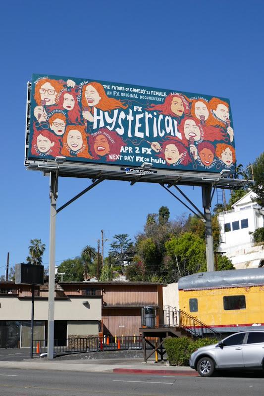 Hysterical FX billboard