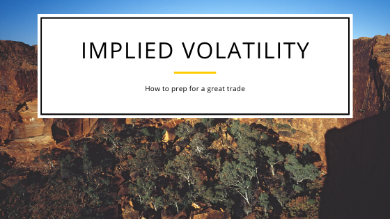 Implied volatility(IV)