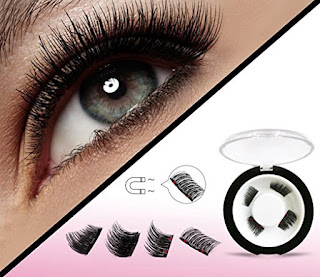 a7346f2d727 Half Size Dual Magnetic False Eyelashes Set (4 pieces) - Handmade 3D Fake  Lashes Extension - Best Reusable and Easy to Apply Ultra Thin Dual Magnet  System ...