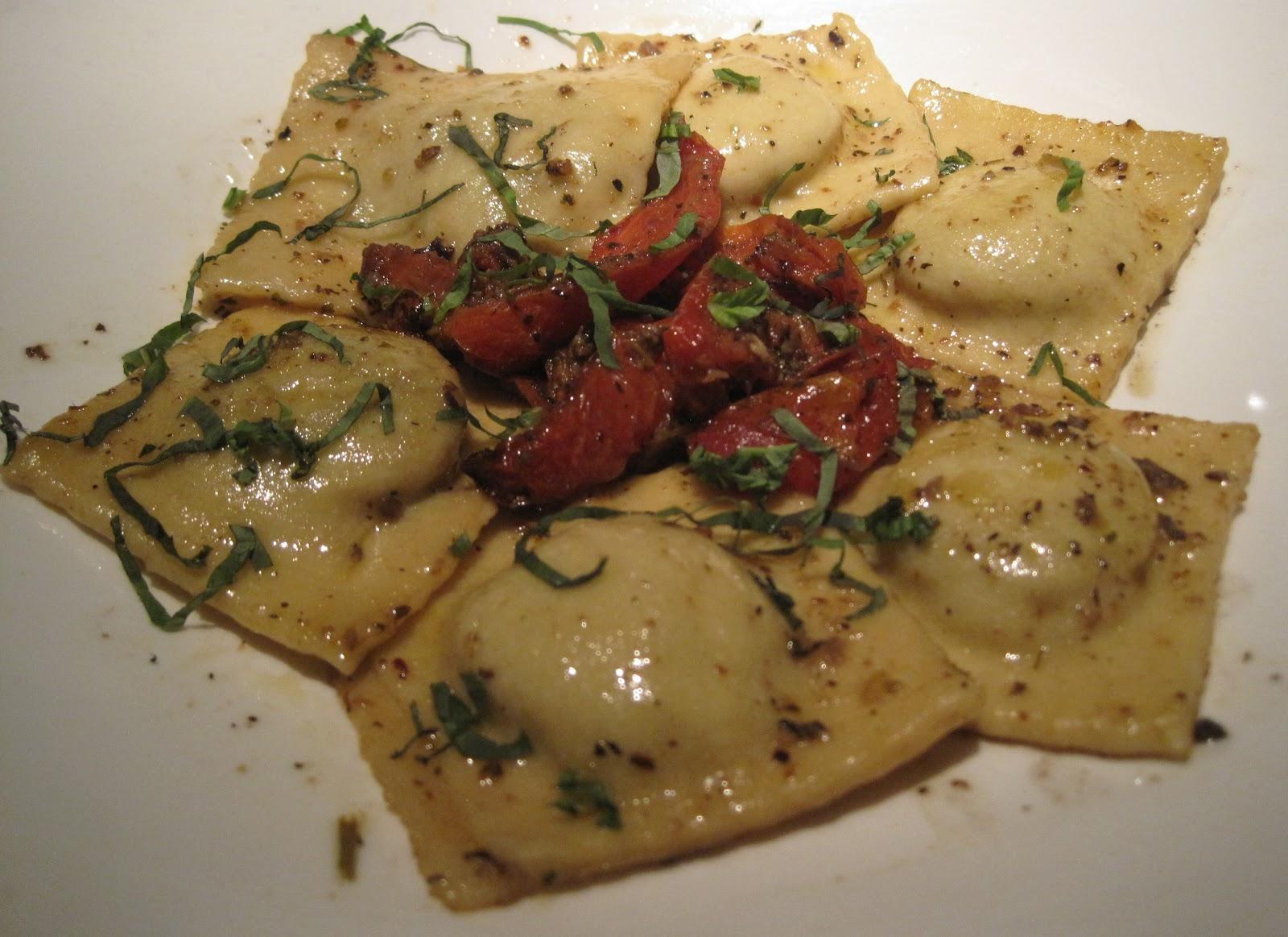 Mushroom Ravioli Sublime Restaurant
