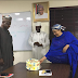 Minister Of Environment, Amina Mohammed Surprises Her Permanent Secretary On His Birthday (See Photos)