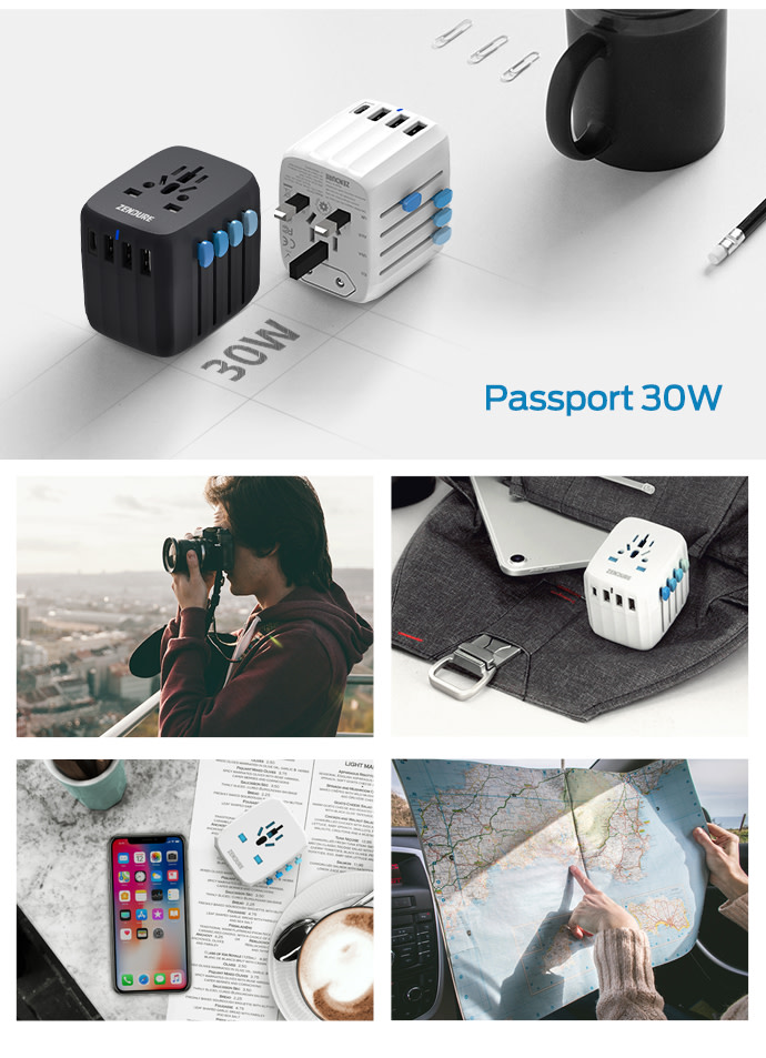 Passport | All-in-One Travel Adapter