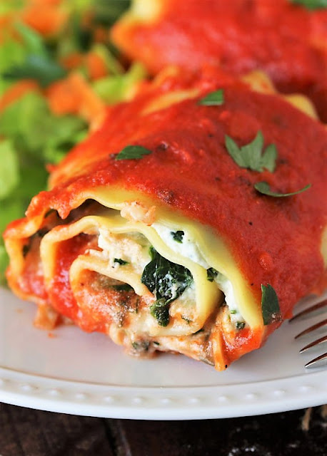 Lasagna Roll-Ups with Spinach Image