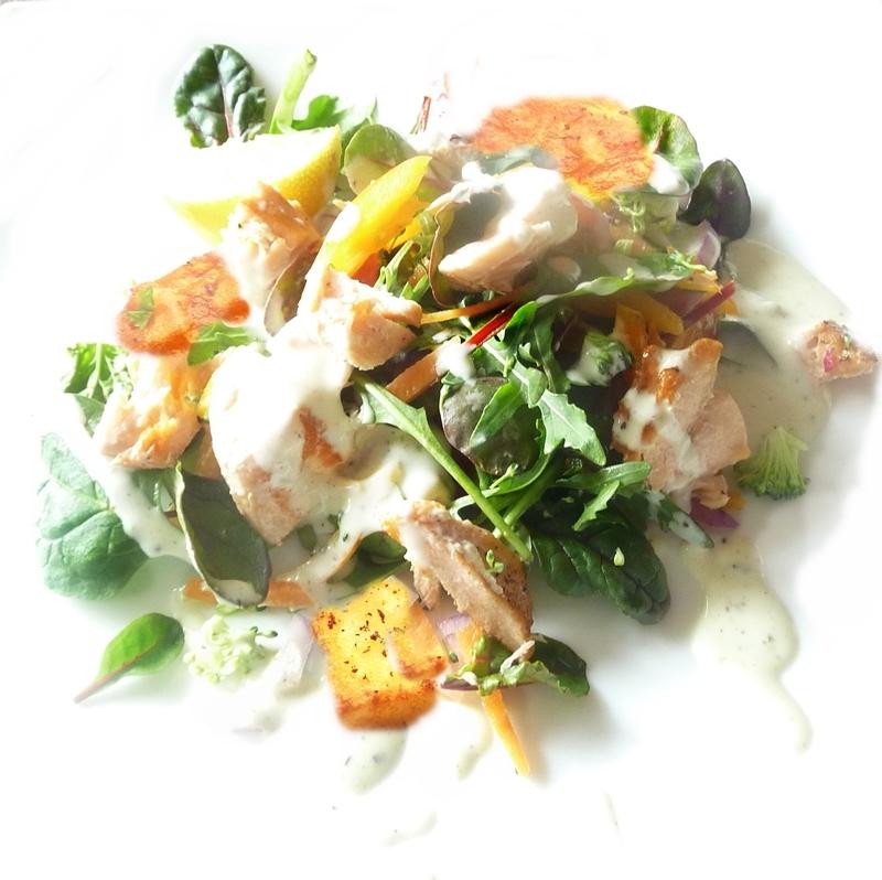 salmon-salad