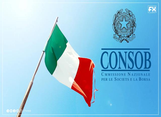 الجهات التنظيمية في إيطاليا CONSOB  تحظر أكثر من 500 موقع لبعض الانتهاكات المالية