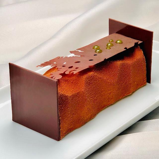 recette bûche déshabillez moi chocolat citron frédéric bau valrhona gourmandise raisonnée