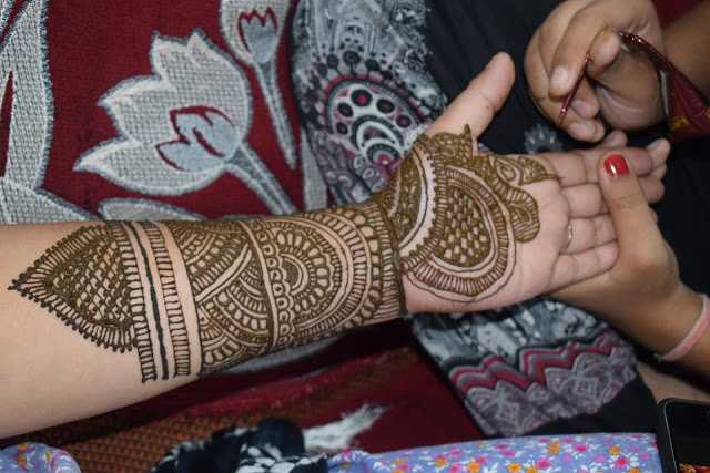 Latest indian mehndi design photo hd