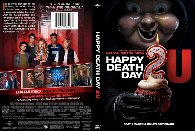 Happy Death Day 2U DVD DVD Cover
