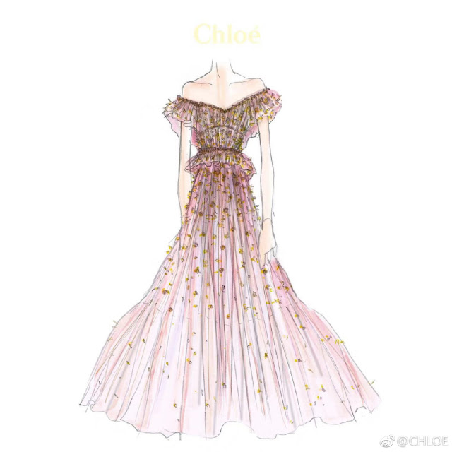 Tang Yan Chloe Wedding Evening Gown