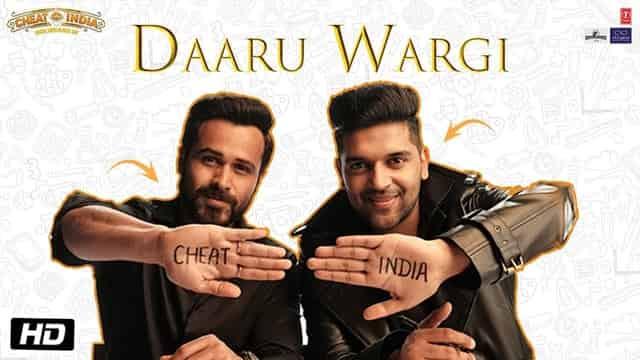 दारु वर्गी Daaru Wargi Lyrics In Hindi - Guru Randhawa