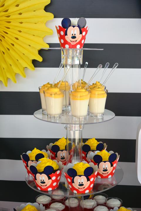 Mickey Mouse Rice Krispie Pops