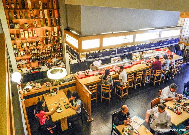 Restaurante Sushi Lika - Liberdade - São Paulo