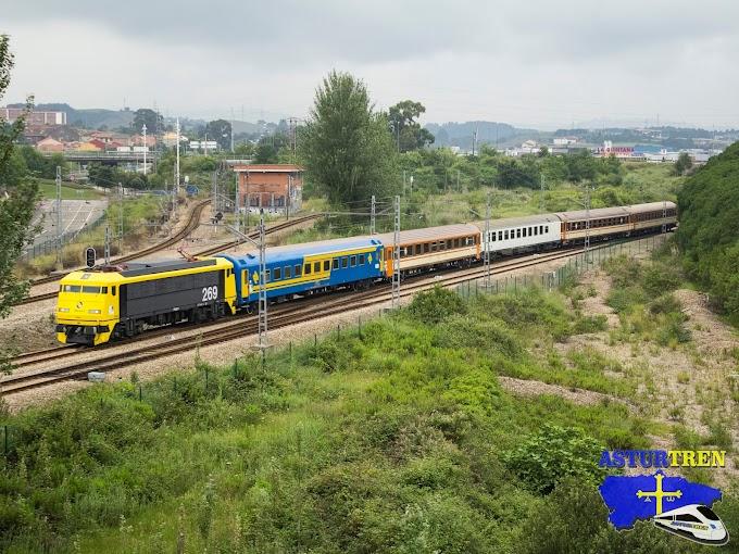 Tren de la Nieve Madrid - Cercedilla - Segovia el 15 de febrero