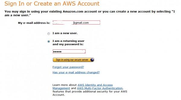 Menggunakan Amazon S3