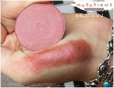 review  HUMAN ombretto swacthes  - Collezione Mutations - Neve cosmetics