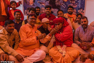 Shocking Story Of Hindu Community Who Had A ' Cow Urine Drinking Party ' To Ward Off Coronavirus(photos)