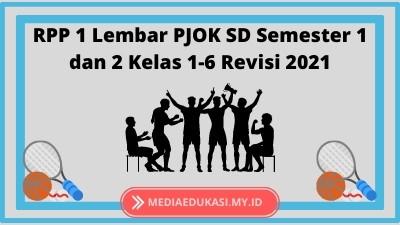 RPP 1 Lembar PJOK SD Semester 1